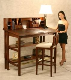 I want a standing desk for my office.  Think work would go for it?