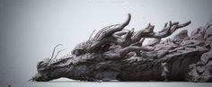 Katasuya Terada 's Dragon &girl, Zhelong XU on ArtStation at http://www.artstation.com/artwork/katasuya-tetada-s-dragon-girl