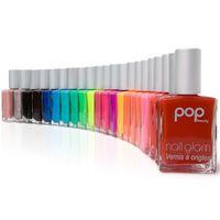 pop nail glam nail polish.  fabulous bright colors.