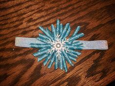 Check out this item in my Etsy shop https://www.etsy.com/listing/501275605/korker-snowflake-headband