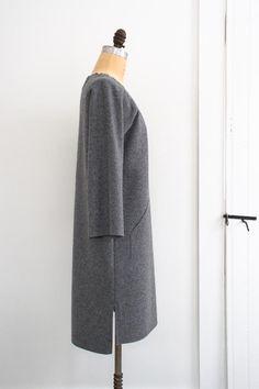Sewn Raglan Shirt, Tunic + Dress in Lana Cotta Canberra | The Purl Bee
