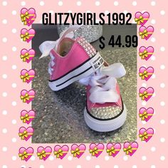 ccbb22f48b43 Wedding Converses Wedding Sneakers Flower Girl Sneakers Size 2 3 4 5 6 7 8  9 Sneakers Bling Sneakers Rhinestone Sneakers  by on Etsy