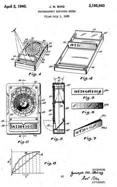 Exposure Meter schematics