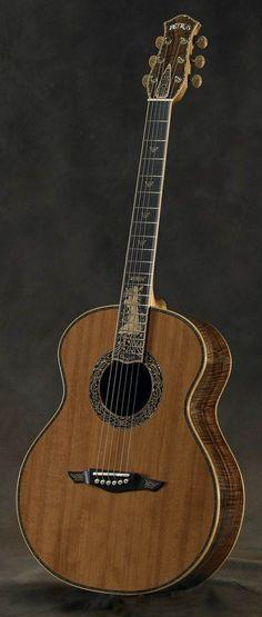Petros Guitars, Princess Of The Wood Musical Design Project Info: MaritimeVintage.com