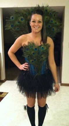 Peacock - would be cool for a Halloween fit - Dalena Burns Mean Girls Halloween Costumes, Creative Halloween Costumes, Halloween 2019, Halloween Party, Homemade Costumes, Diy Costumes, Costume Ideas, Woman Costumes, Cheese Costume