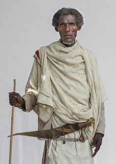 Karrayyu Old Man, Metahara, Ethiopia