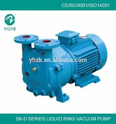 YHZKB brand single stage liquid ring vacuum pump extruder
