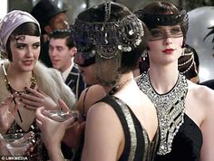 The Fortunate One: Let's Misbehave! Baz Luhrman's The Great Gatsby & 1920s Fashion The Great Gatsby 2013, Great Gatsby Theme, Gatsby Themed Party, Great Gatsby Fashion, 20s Fashion, Gatsby Wedding, Party Wedding, Wedding Ideas, Wedding Pictures
