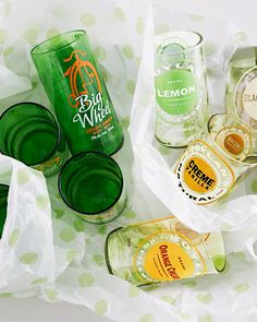 Recycled-Glass Tumblers
