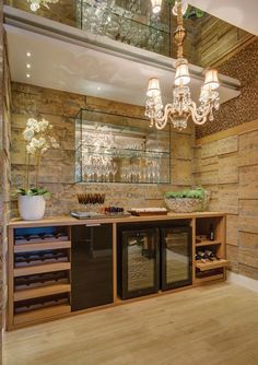 WOW now this is a Basement Bar! Basement Bar Plans, Basement Bar Designs, Home Bar Designs, Coffee Bars In Kitchen, Wine House, Wall Bar, Bars For Home, Caves, Decoration