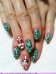 Kabuki Nails