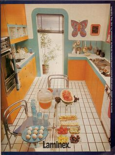 Fresh And Bright by glen.h, via Flickr-looks like the kitchen in the house I grew up in