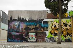 Barcelona, street art, Tags