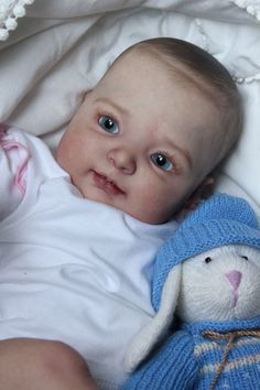 reborn baby girl doll Kimber by Donna Rubert, now Liana