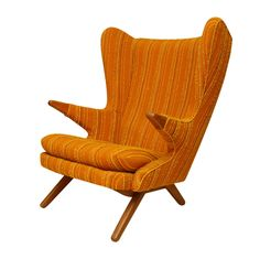 Danish Modern Armchair. Looks comfy and would be awesome in my living room