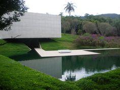 Galeria Adriana Varejão pavilion, designed by Rodrigo Cerviño Lopez for Inhotim Centro de Arte Contemporânea in Brumadinho, Brazil.