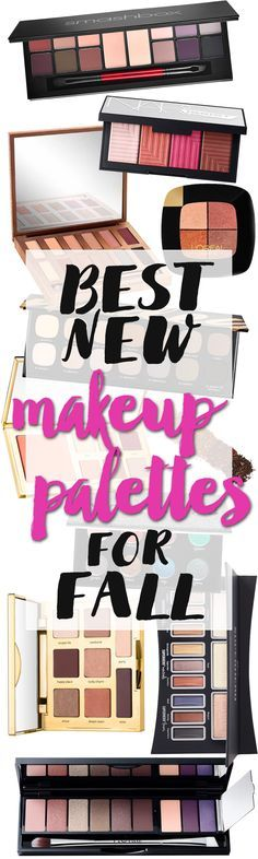 Top 10 New Makeup Palettes for Fall