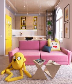 Pls can we live here? (Design by Lada... | Cartoon Network
