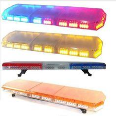 """12V-24V Universal 46.5""""Inch 88 LED Strobe Light Emergency Recovery Beacon Wrecker Flashing LightBar Warning LightBar"""