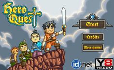 Play a #fantasy #realtimestrategy #battlegame - #HeroQuest, and protect your kingdom by defeating the enemy and attacking their castles.