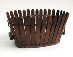Shaker picket fence basket..... ****