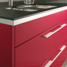Polished Chrome Metal Bar Cabinet Handles 128mm Screw Centres x 10mm Dia 2