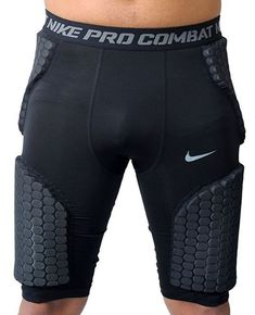 c80450ab89344e Nike Pro Combat Hyperstrong Basketball Girdle Mens 5 Pad Black Compression  for sale online