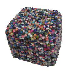 Modern Multi Cube Shape Wool (16