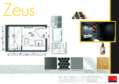 Project: Zeus Alpha & Omega Glebe (apartments sold off the plan) Bathroom design  (includes computer generated image)