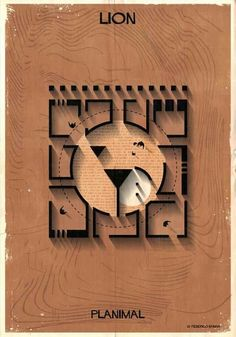 "Image 16 of 27 from gallery of Federico Babina's ""Planimal"" Reimagines Architectural Plans as Animals. Photograph by Federico Babina Architecture Tools, Architecture Drawings, Interior Architecture, Architecture Student, Museum Plan, Maze Design, Lion Art, Concept Diagram, Sketch Design"