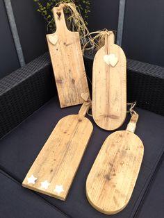 Brood/serveerplank van steigerhout