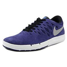 ba5ffc76f094 Nike Free SB Deep Royal Blue   White   Mettalic Silver Skate Shoes Review  Blue Sneakers