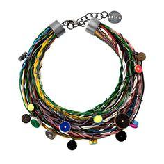 Naszyjnik z zastosowaniem wiązki elektrycznej wraz z przewodami sieci CAN Volvo. #pARTs #KarlikArt #jewelry #Orska #upscaling #Volvo
