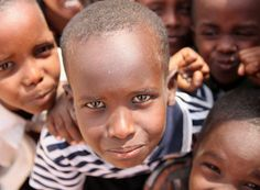 These boys currently live in an internally displaced persons camp in Balambala, Kenya. World Concern is working actively to provide them with the basic necessities to live a life of dignity: clean water, education about hygiene, and the tools/education to farm. I think this boy is faking a sad face!