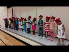 Preschool graduation - Silly Rock Star song, Tap Your Sticks, Number Rock - YouTube