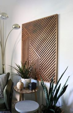 Home Decoration With Flowers Wood Slat Wall, Wood Slats, Wood Wall Art, Rustic Wall Art, Rustic Walls, Modern Wall Art, Reclaimed Wood Art, Rustic Wood, Diy Wood