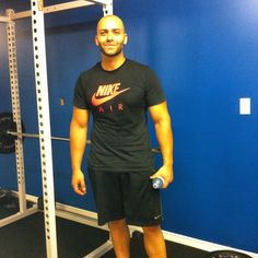 Fawaz came in to do a good workout!