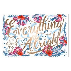 Spring All Right Canvas Print, Oliver Gal