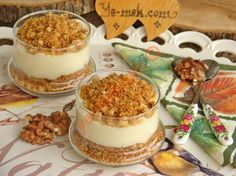 How to cook Shredded Wheat Dessert with Pudding in Cups? You can easily make Shredded Wheat Dessert with Pudding in Cups. Turkish Sweets, Cake Recipes, Dessert Recipes, Delicious Desserts, Yummy Food, Cheese Ball Recipes, Baked Donuts, Arabic Food, Turkish Recipes