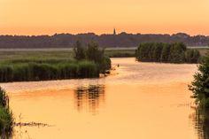 Natuurfoto Oost-Groningen: Mooie sfeer in Blijham