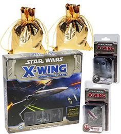 Star Wars X-Wing _ The Force Awakens Core Set Miniatures Game _ with A-Wing & Tie Interceptor Expans @ niftywarehouse.com #NiftyWarehouse #Geek #Fun #Entertainment #Products