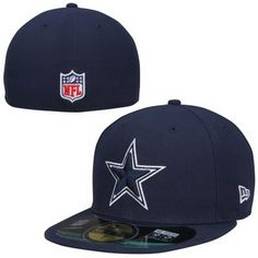 Mens New Era Navy Blue Dallas Cowboys Classic Fitted Hat eeabf145dce