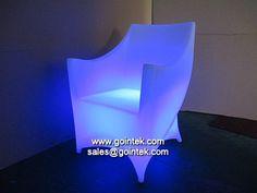 salón de LED que brilla intensamente diseño de muebles