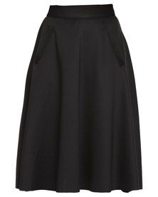 Flare Skirt, Skirts, Stuff To Buy, Men, Shopping, Clothes, Black, Fashion, Moda