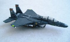 F-15E Eagle #flickr #LEGO #MOC #plane