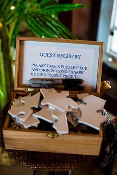 Puzzle+Piece+Guest+Book