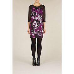 £29 Buy Kaliko Joanna Tunic Dress, Purple Online at johnlewis.com