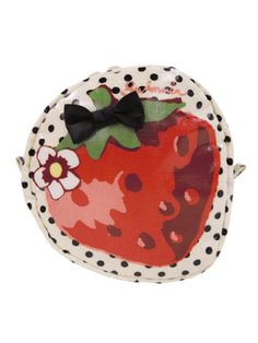 Strawberry makeup case by SWIMMER