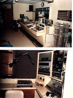 The old control room. Much, much different than the one we have now.