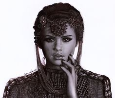 This is my new drawing of Selena Gomez the picture is from the cover of her new album Stars Dance... I hope U like it!